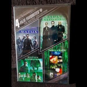 New - Matrix 4-Film Collection on DVD